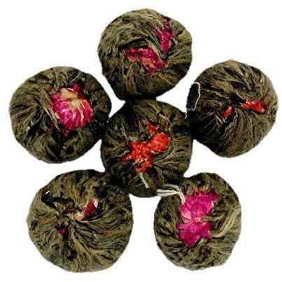 There's a huge variety to choose among, from jasmine to hibiscus and chrysanthemum.