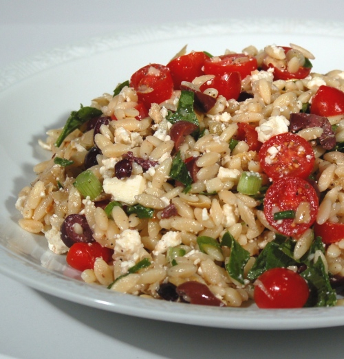 Greek Orzo Salad (RR*, The Second Unconfidential Cooks' Dinner ...