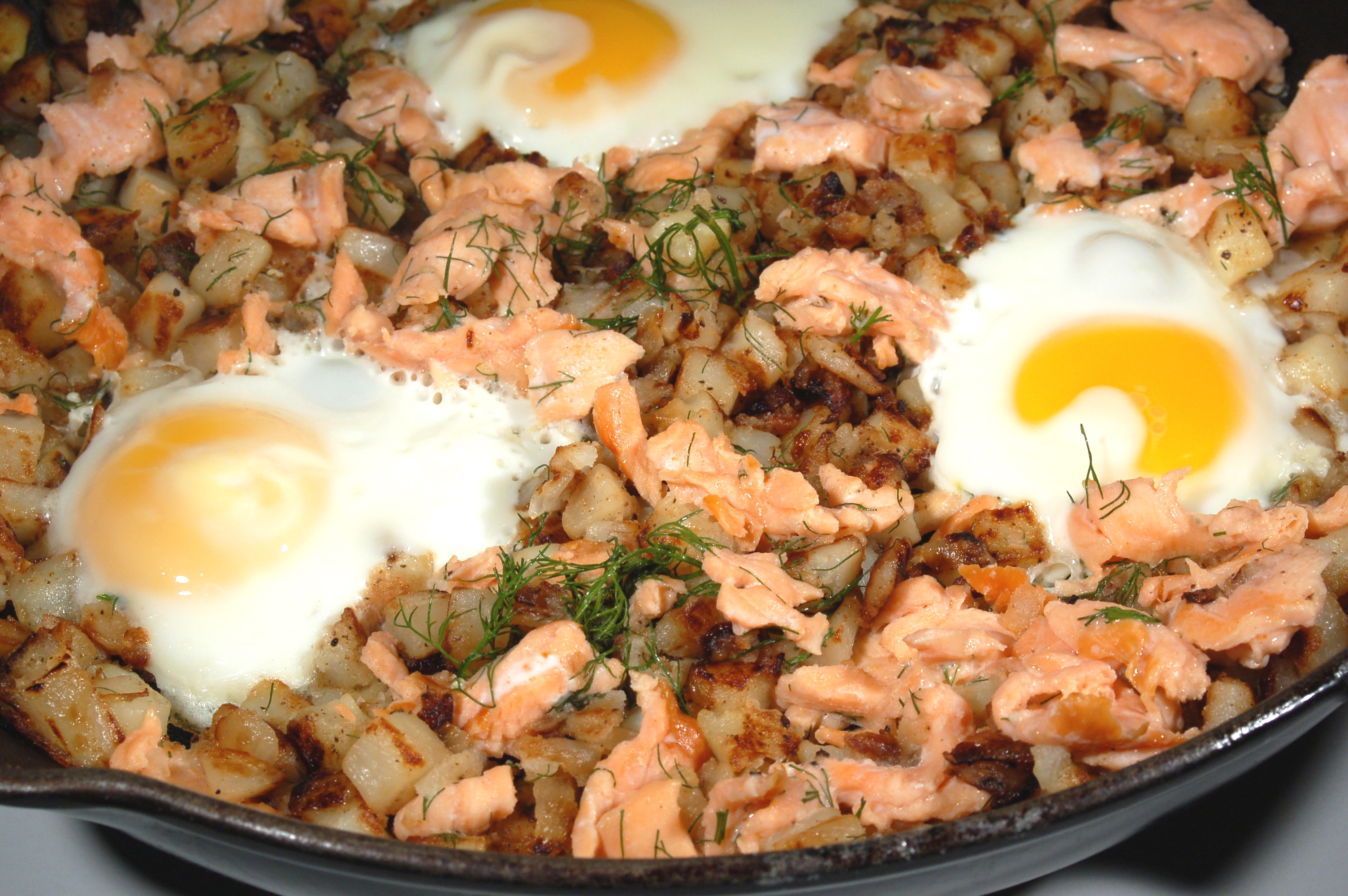 Smoked Salmon Hash and Another Award (!) | The Unconfidential Cook