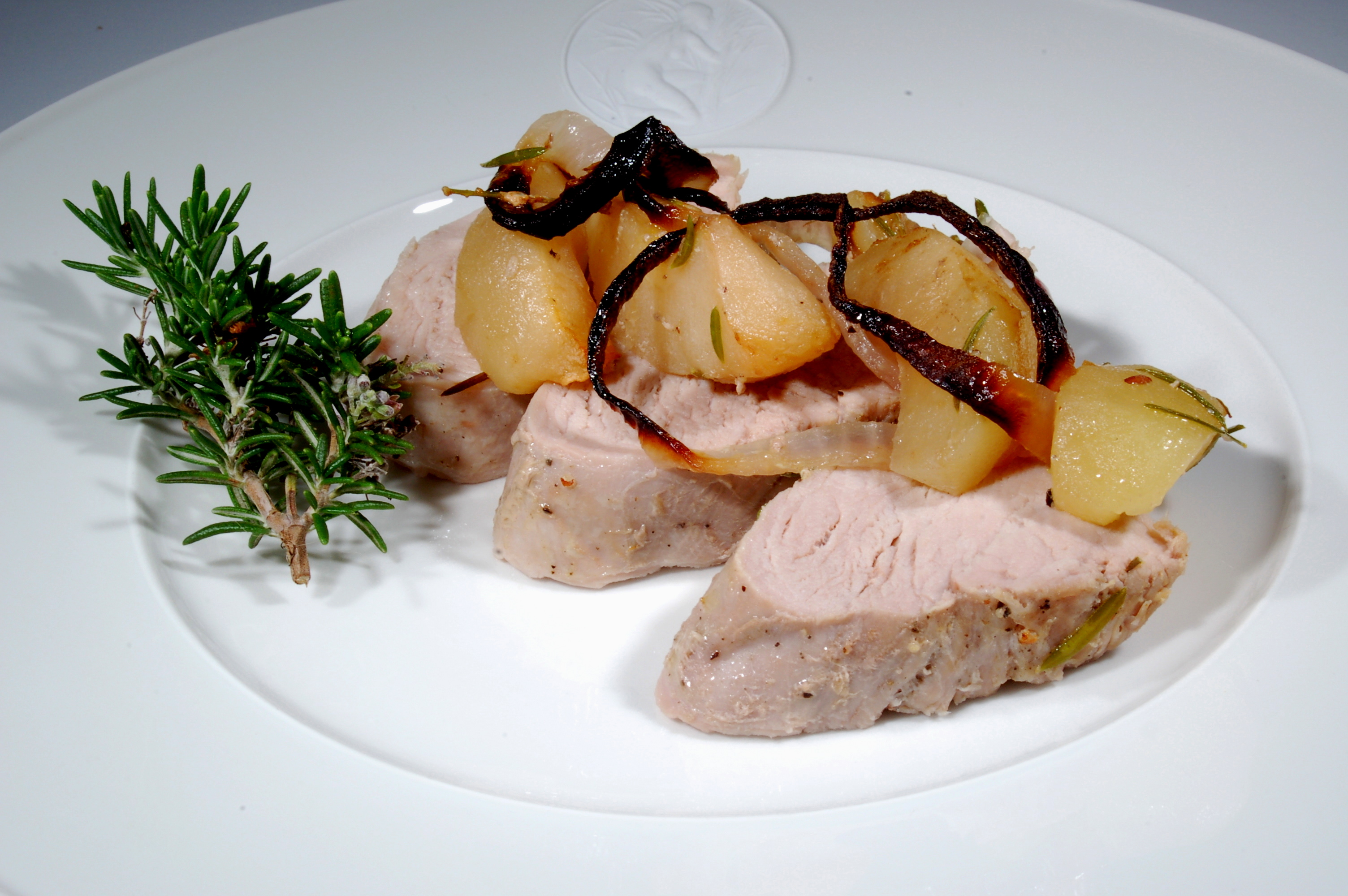 Pork Tenderloin with Roasted Apples and Red Onions | The ...